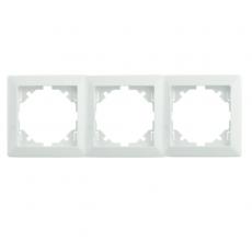 LUX 三位通用外框-白色
