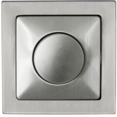 Rotary RL dimmer-STAINLESS STEEL-TABLET METAL