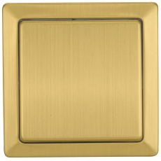 LUX METAL单开单控开关-不锈钢铜拉丝