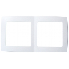 FUTURE雙位外框-白色
