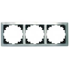 LUX METAL三位外框-不锈钢电镀