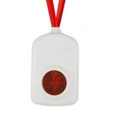 iButton 无线按钮报警器-白色