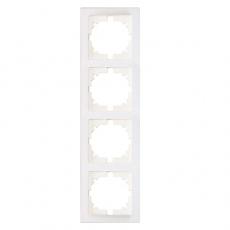 TABLET 四位外框-白色