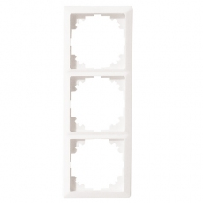 Lux Three Frame White-LUX
