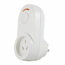 iPlugEnergy 歐式無線遙控移動電量檢測插座中式-白色