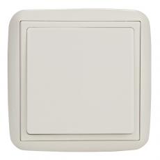 Single Two Way Switch-White-Lotus