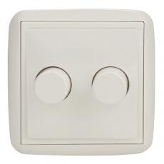LOTUS 双控卤素调光器500W-白色
