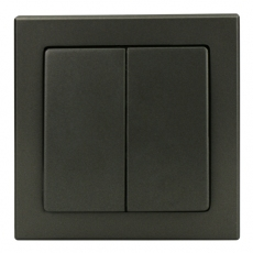 Tablet Double Switch-Antracite