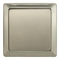 LUX METAL单开单控开关-不锈钢