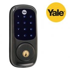iLock Yale DoorLock-black bronze color