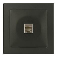 TABLET 电话插座 RJ11-豪华灰色-收缩+白色展示盒装