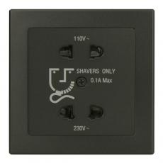 Tablet刮须插座 110V/240C -豪华灰-收缩装