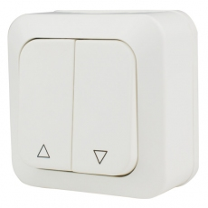 Shutter Double Switch with up/down-Ultra