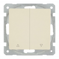 Shutter Switch with up/Down -white-Face