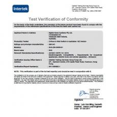 认证-INTERTEK