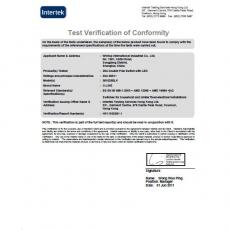 认证-INTERTEK-BS