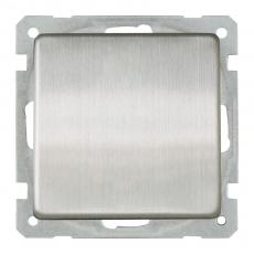 Lux Metal Single Switch-Stainless Steel 6pcs per kit
