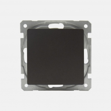System 55 Face Single Switch-without frame-Anthracite