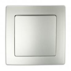 55FC-FUTURE 单开开关-铝色