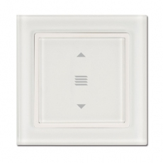 Fortune Glass Shutter Switch,White