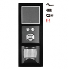 55FT - Fortune sensor+ZRoom Switch with Black Glass Frame,55 panel