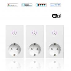 丰度AI 智能WiFi德式插座 3 pack