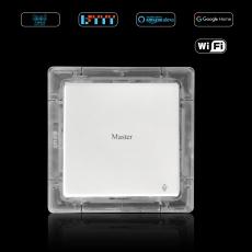 丰度AI 智能WiFi防水LUX单开开关