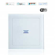 Wintop AI Wi-Fi Smart Light Wall Touch Switch Neutral Wire Required eHouse  63T Design-white