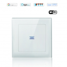 Wintop AI Wi-Fi Smart Light Wall Touch Switch Neutral Wire Required eHouse  55F Design-white